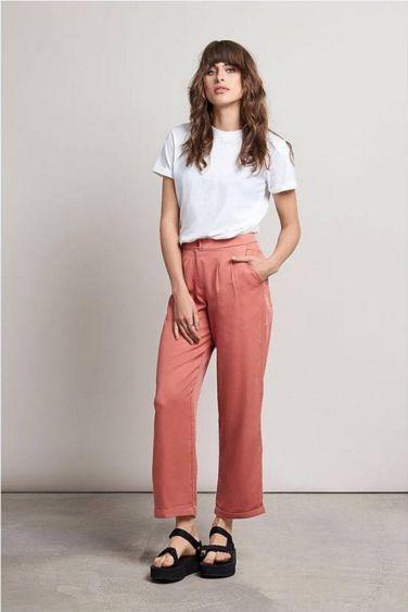 pantalon komodo rosa largo organico
