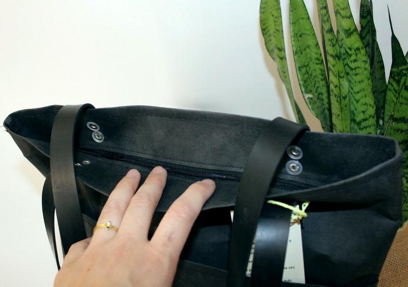 bolsos-gisela-negro-cremallera natural eco