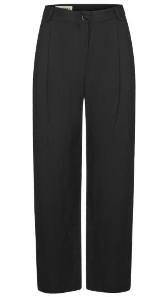 Lila pantalones negros