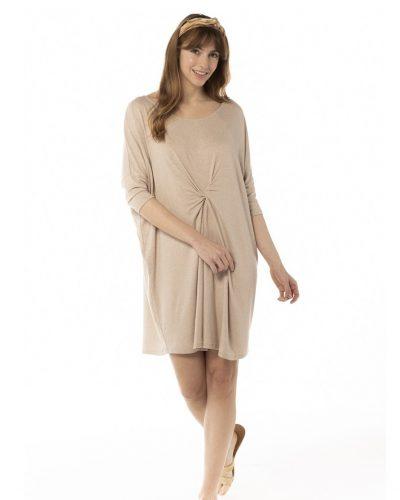 Vestido frunce vigoré, 100% viscosa. Tienda online comprar ropa ecológica y moda sostenible al mejor precio